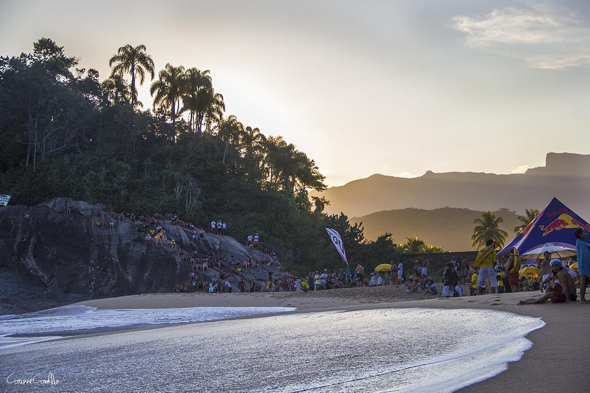 Beach Scene Sunset 9642